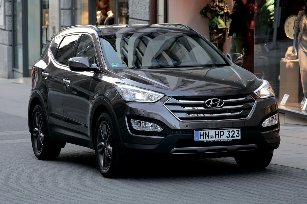 Hyundai Santa Fe 3 поколение DM (2012-2016) Кроссовер