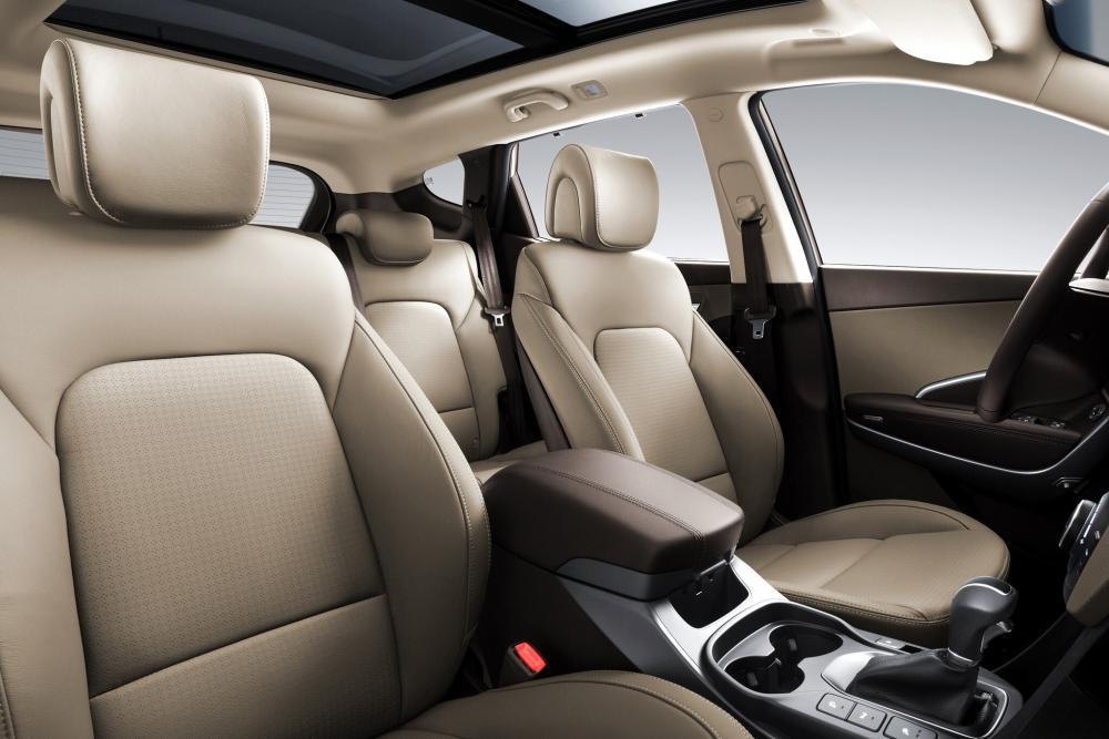 Hyundai Santa Fe 3 поколение DM (2012-2016) Кроссовер интерьер