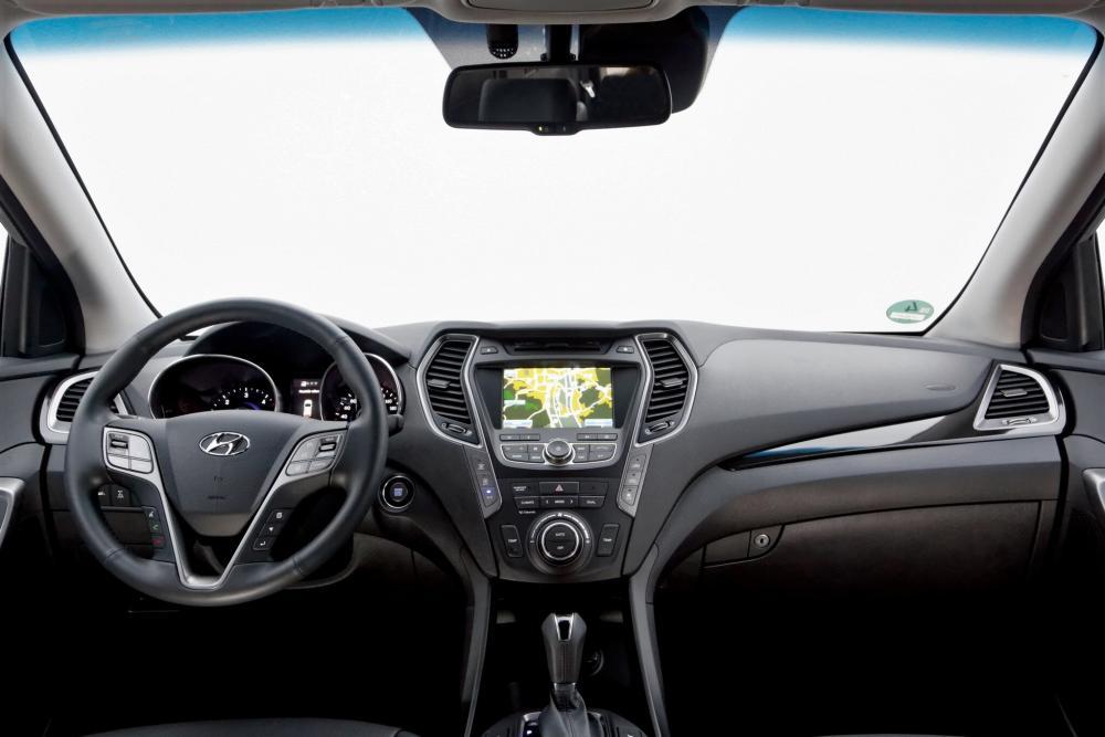 Hyundai Santa Fe 3 поколение DM Grand кроссовер интерьер