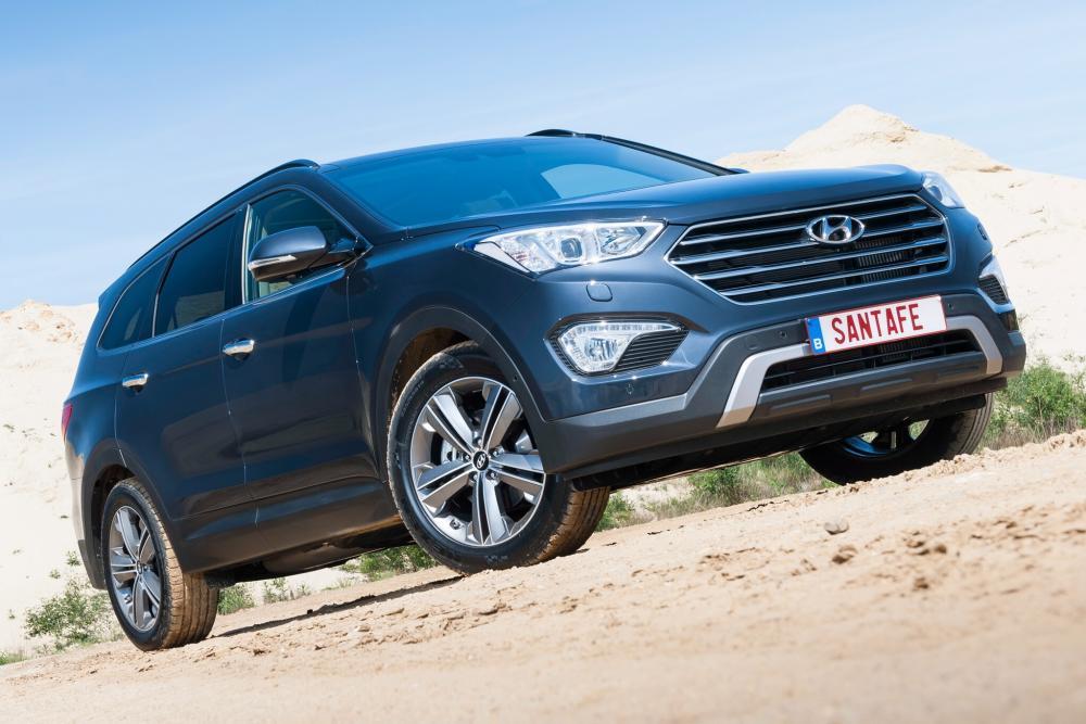 Hyundai Santa Fe 3 поколение DM Grand кроссовер