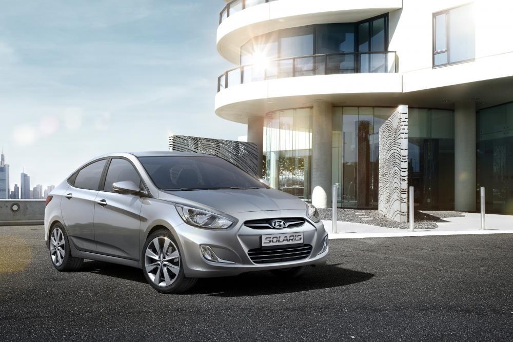 Hyundai Solaris 1 поколение (2010-2014) Седан