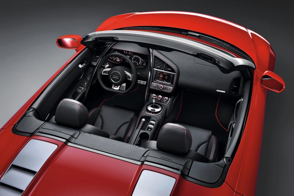 Audi R8 1 поколение [рестайлинг] (2012-2015) Spyder кабриолет