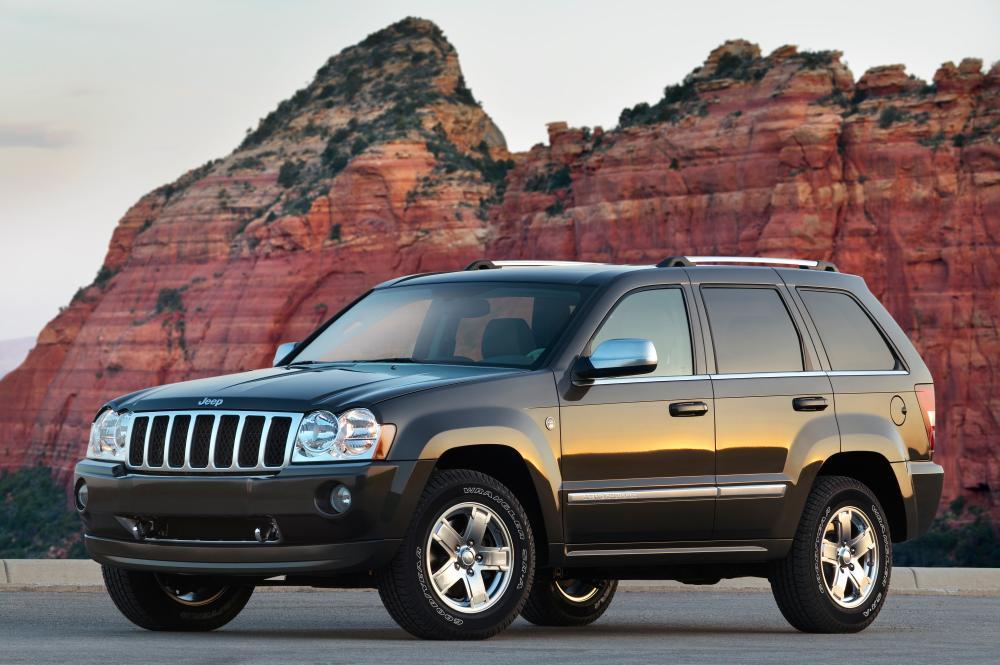 Jeep Grand Cherokee 3 поколение WK