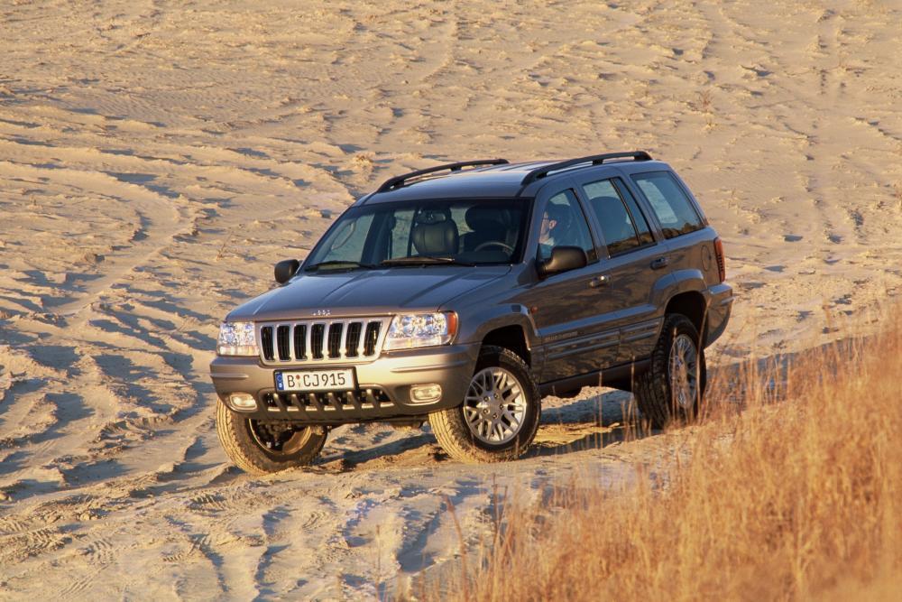 Jeep Grand Cherokee 2 поколение WJ