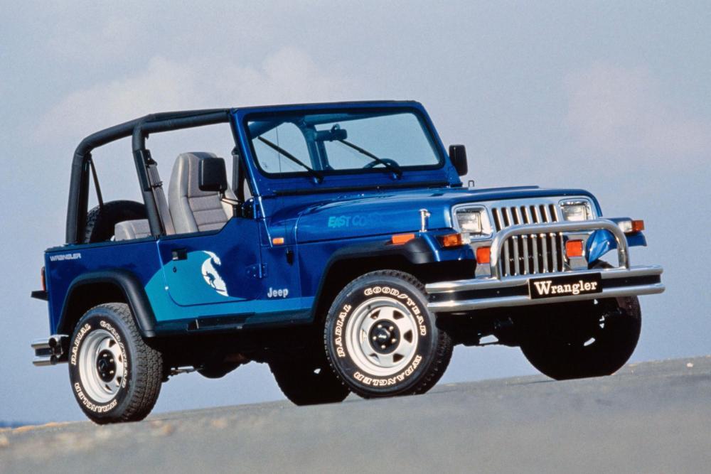 Jeep Wrangler YJ (1987-1996) Внедорожник