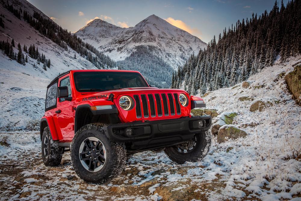 Jeep Wrangler 4 поколение JL (2017) Внедорожник 3-дв