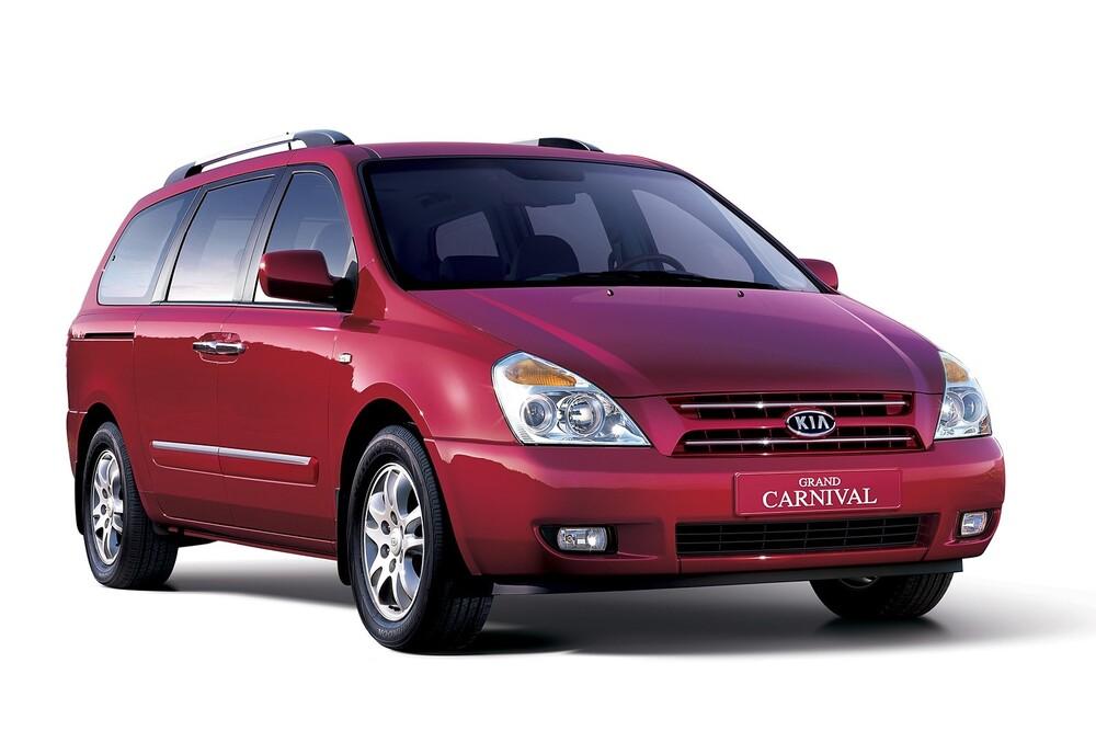 Kia Carnival VQ (2006-2010) Grand минивэн 5-дв.
