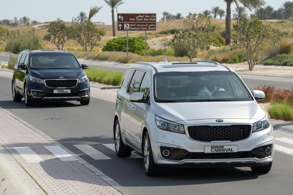 Kia Carnival 3 поколение YP (2014-2020) Grand минивэн