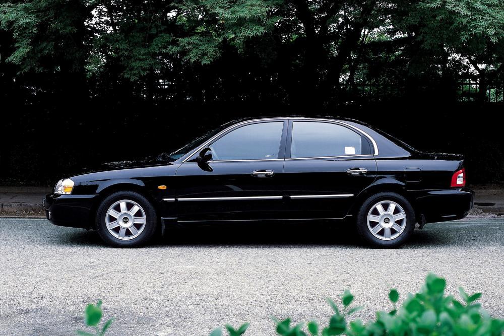 Kia Magentis 1 поколение рестайлинг (2003-2006) Седан
