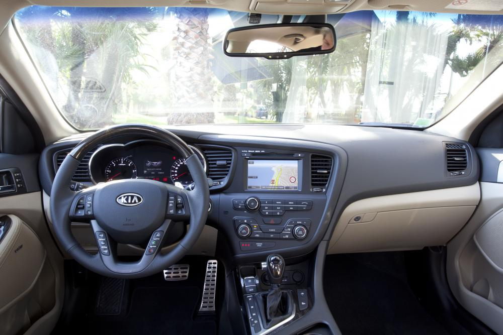 Kia Optima 3 поколение Седан интерьер