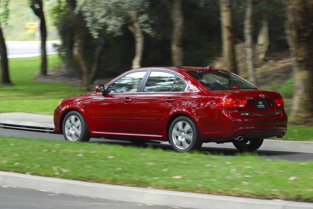 Kia Optima 2 поколение рестайлинг Седан