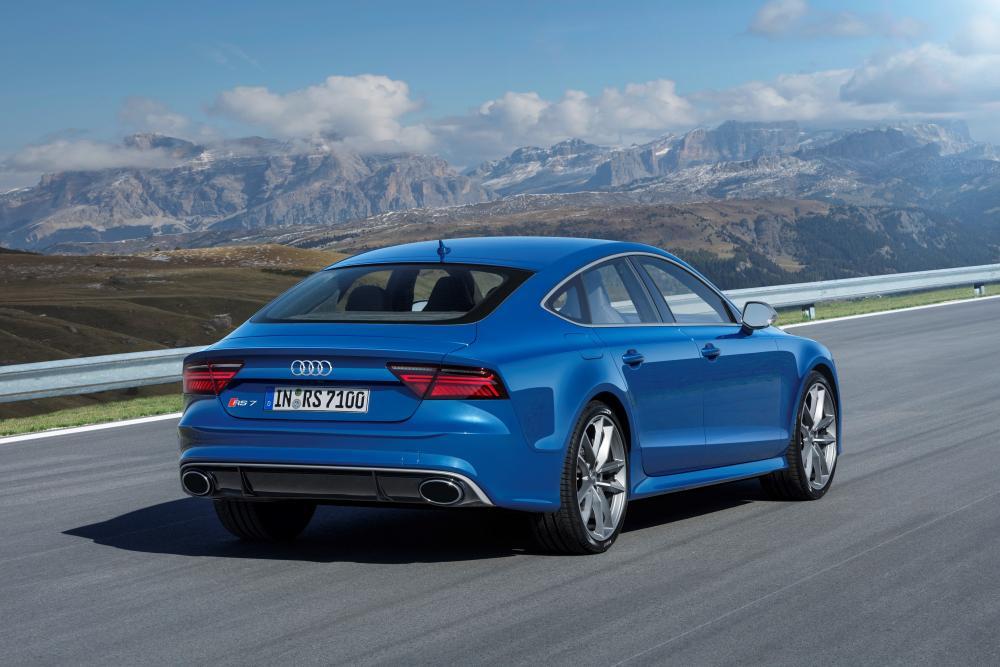 Audi RS 7 4G рестайлинг Sportback лифтбэк