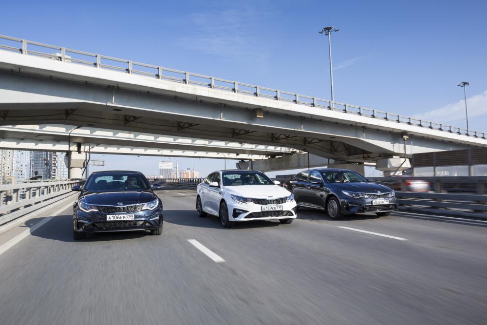 Kia Optima 4 поколение рестайлинг Седан