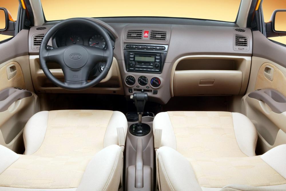 Kia Picanto 1 поколение Хетчбэк интерьер