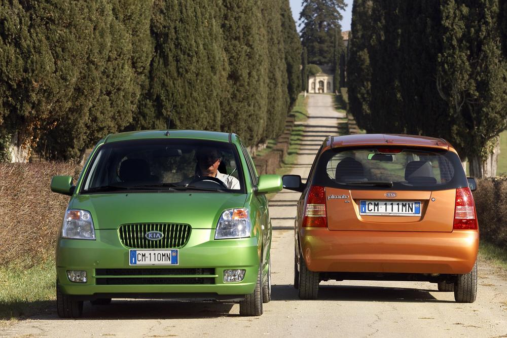 Kia Picanto 1 поколение Хетчбэк