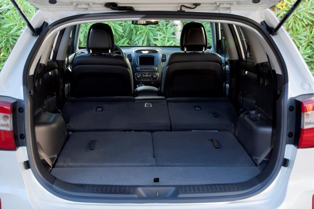 Kia Sorento 2 поколение рестайлинг багажник