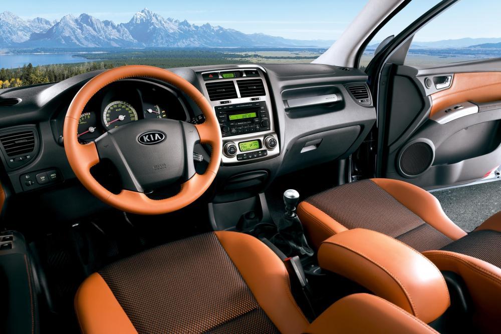 Kia Sportage 2 поколение интерьер