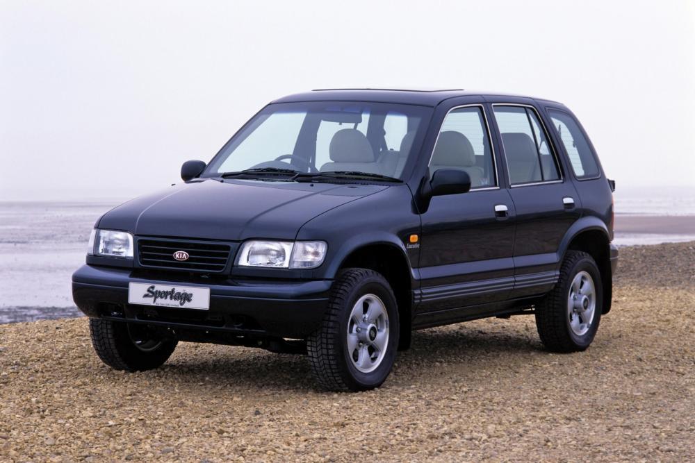 Kia Sportage 1 поколение Внедорожник 5-дв.