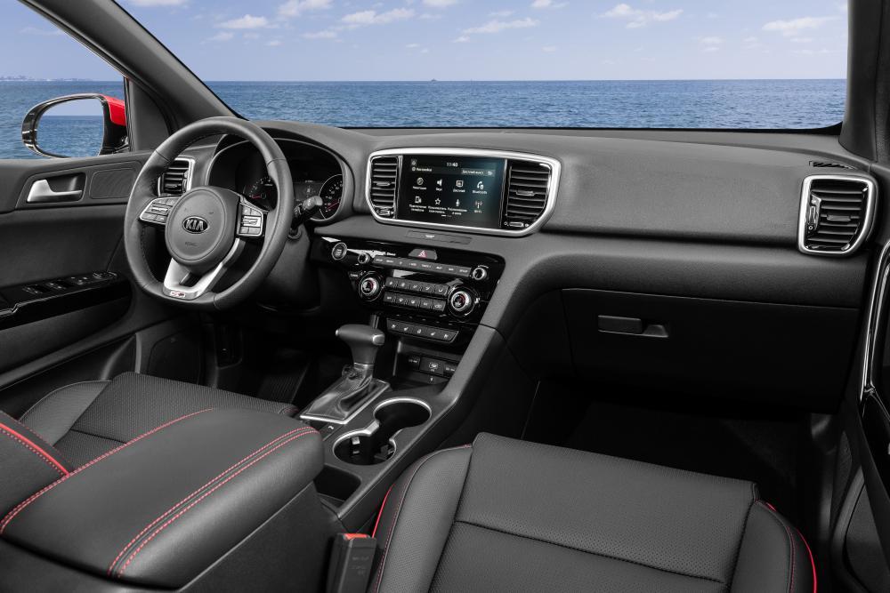 Kia Sportage 4 поколение [рестайлинг] (2018) Кроссовер интерьер