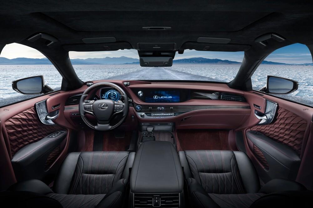 Lexus LS 5 поколение (2017-2021) Седан 4-дв. интерьер