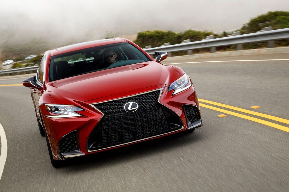 Lexus LS 5 поколение (2017-2021) Седан 4-дв.