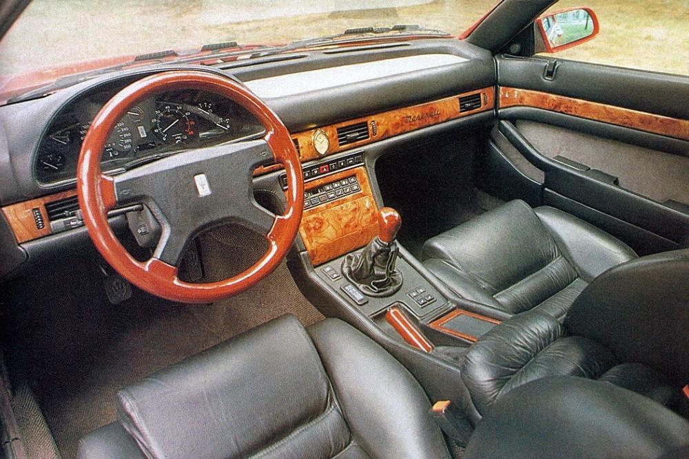 Maserati Ghibli 2 поколение Купе интерьер