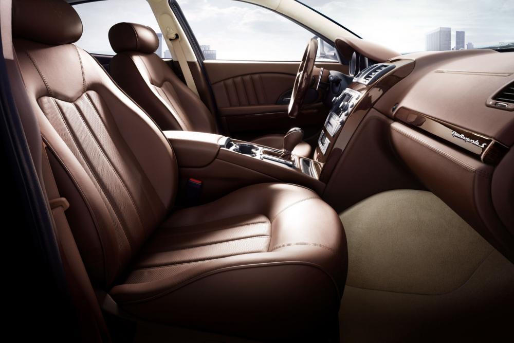 Maserati Quattroporte S 5 поколение рестайлинг интерьер