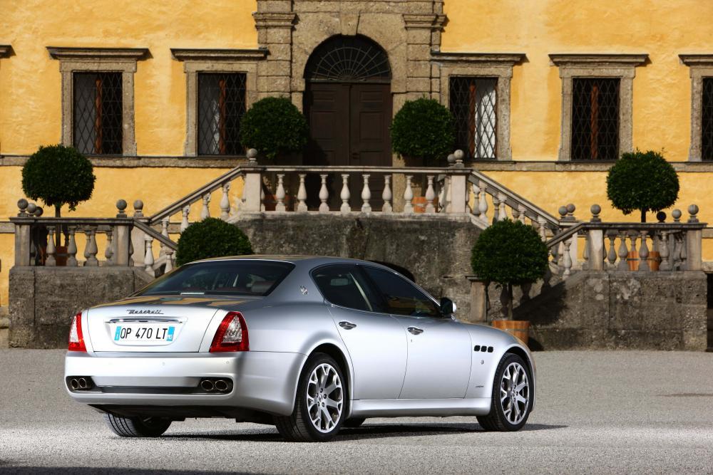 Maserati Quattroporte S 5 поколение рестайлинг