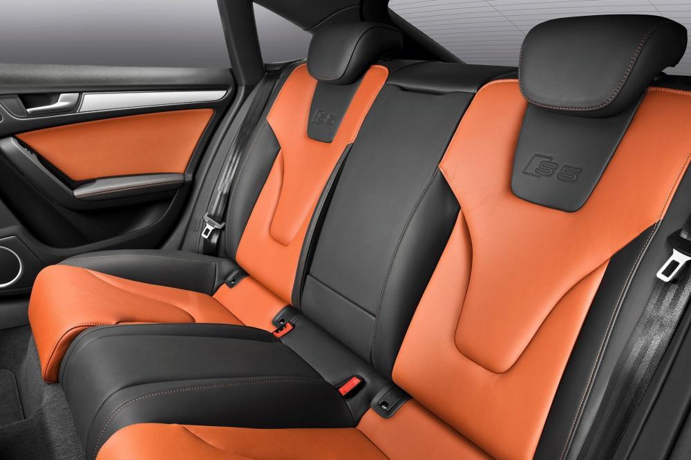 Audi S5 1 поколение 8T Sportback лифтбэк интерьер