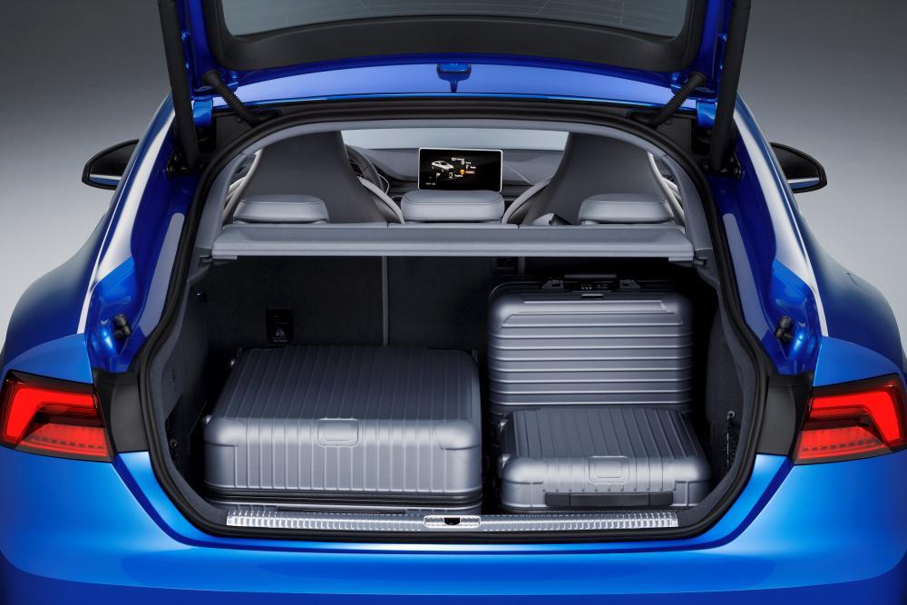 Audi S5 2 поколение (2016-2019) Sportback лифтбэк багажник
