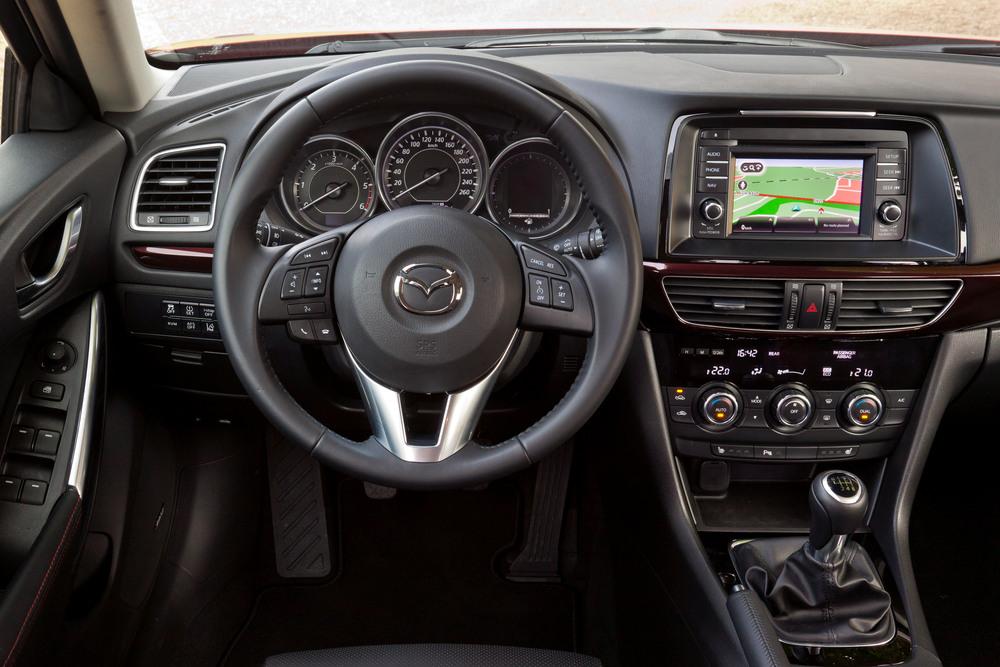 Mazda 6 3 поколение GJ (2012-2015) седан