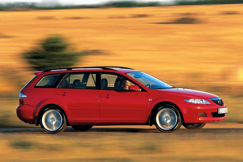 Mazda 6 1 поколение GG (2002-2005) Универсал