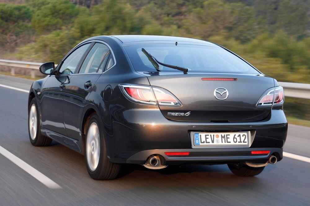 Mazda 6 2 поколение GH [рестайлинг] (2010-2013) Лифтбэк