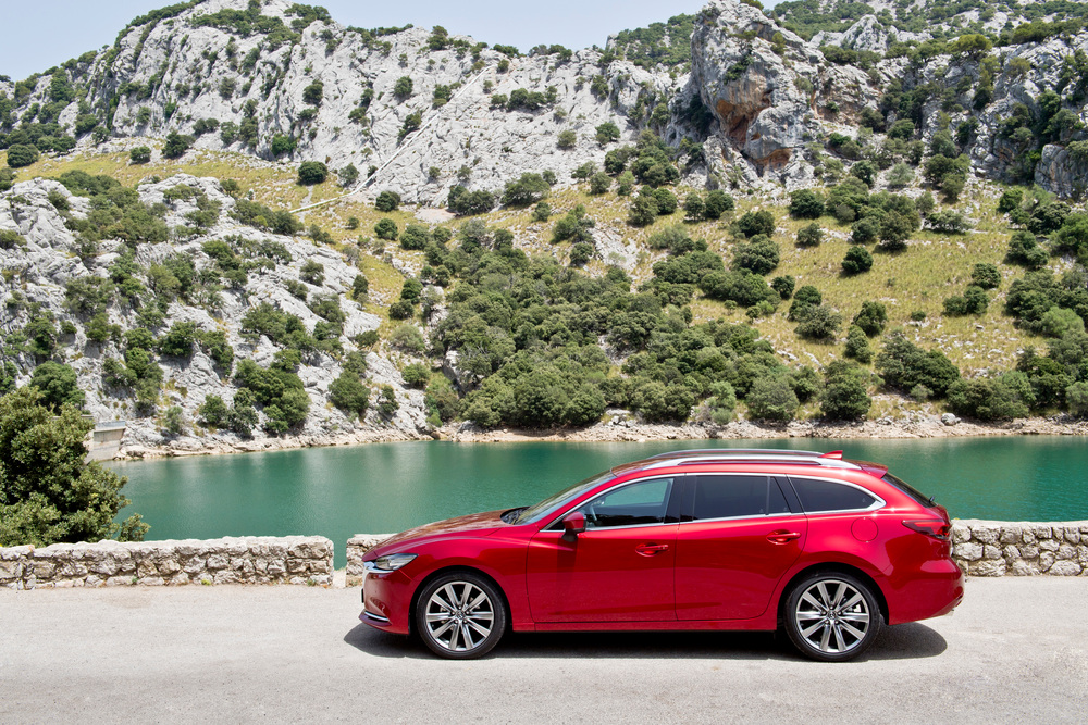 Mazda 6 3 поколение GJ [2-й рестайлинг] (2017) Универсал