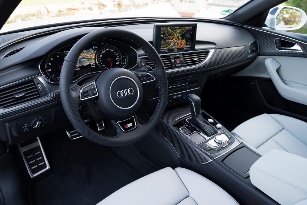 Audi S6 C7 [рестайлинг] (2014-2018) Седан интерьер