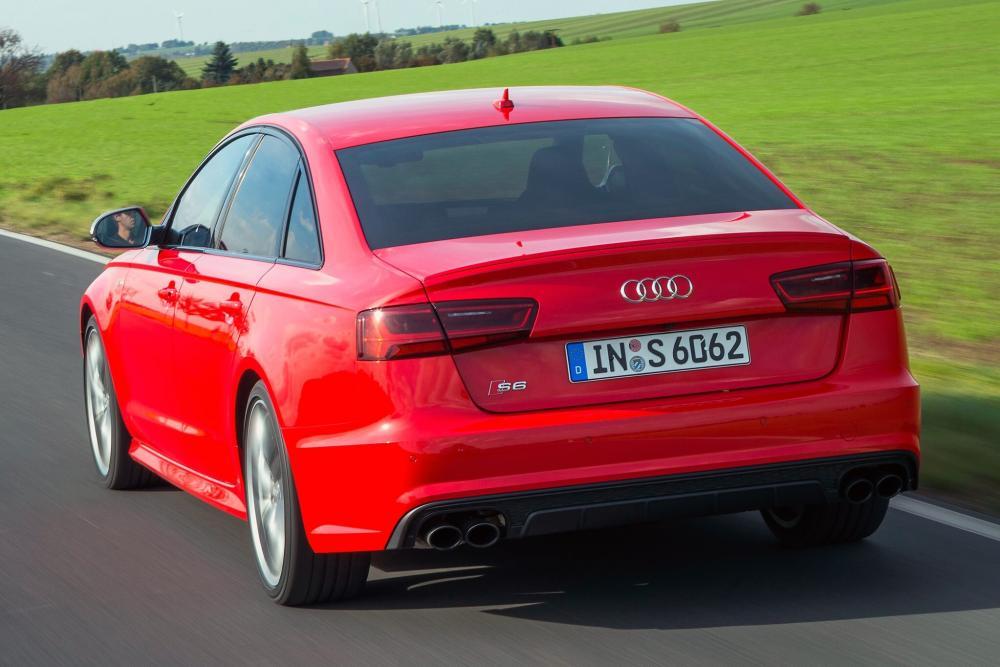 Audi S6 C7 [рестайлинг] (2014-2018) Седан