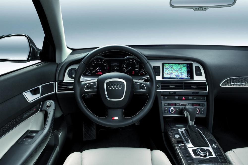 Audi S6 C6 [рестайлинг] (2008-2011) Седан интерьер