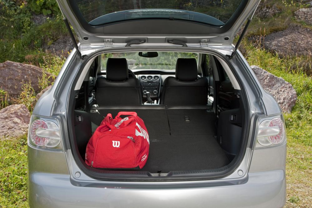 Mazda CX-7 1 поколение рестайлинг Кроссовер багажник