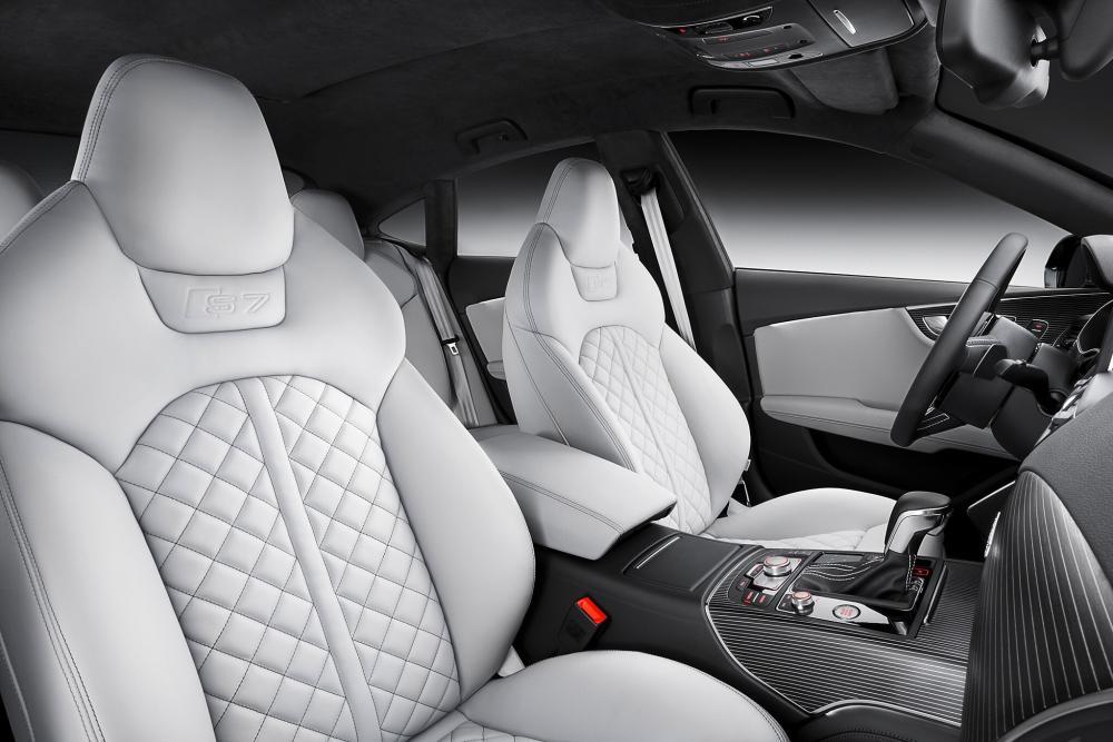 Audi S7 4G [рестайлинг] (2014-2018) Sportback лифтбэк интерьер