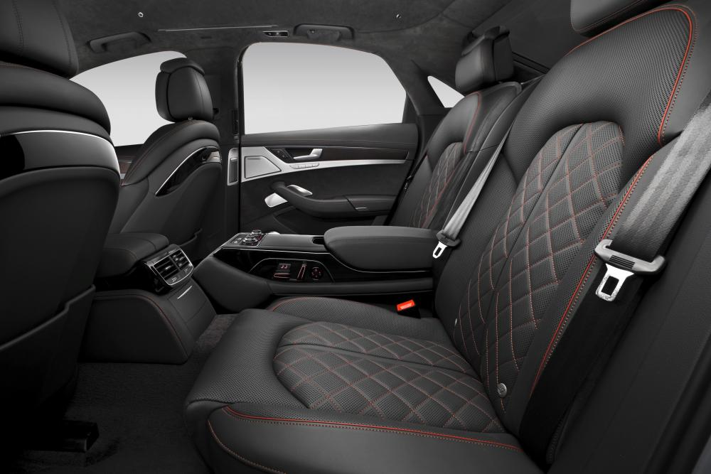 Audi S8 D4 рестайлинг (2013-2018) Седан интерьер