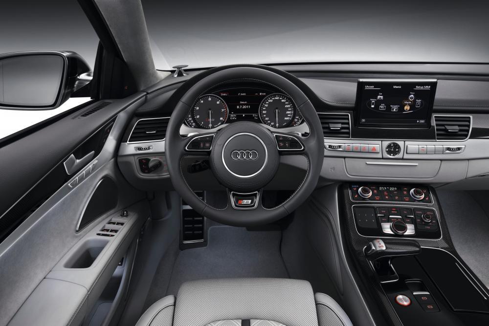 Audi S8 D4 (2012-2013) Седан интерьер