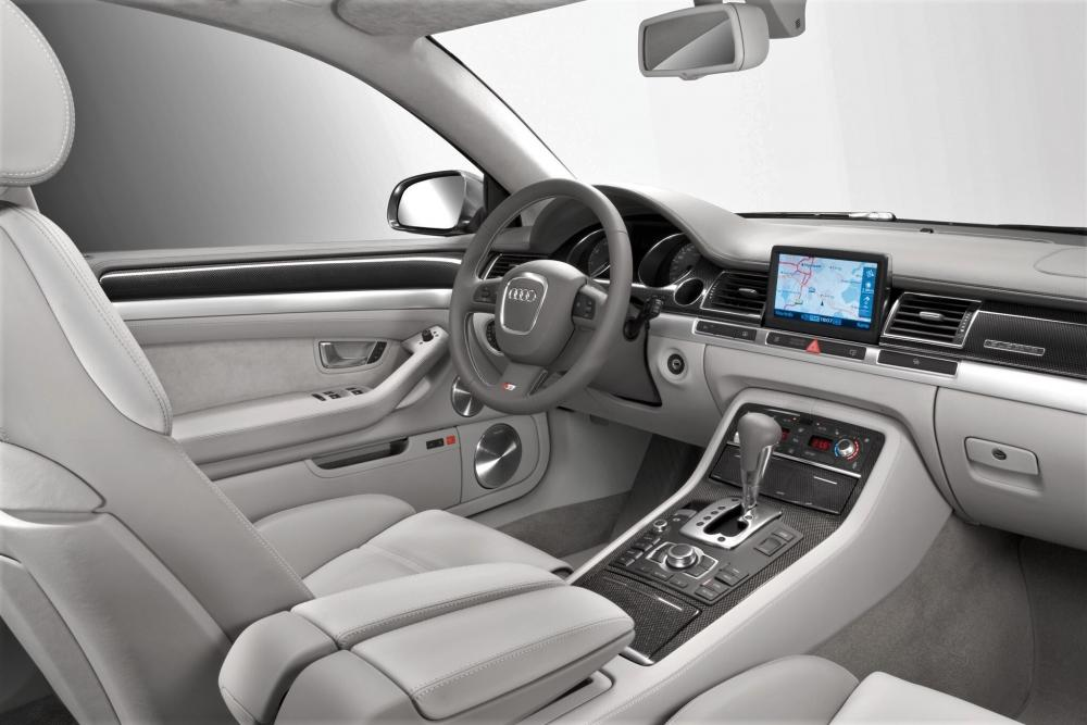 Audi S8 D3 (2005-2008) Седан интерьер