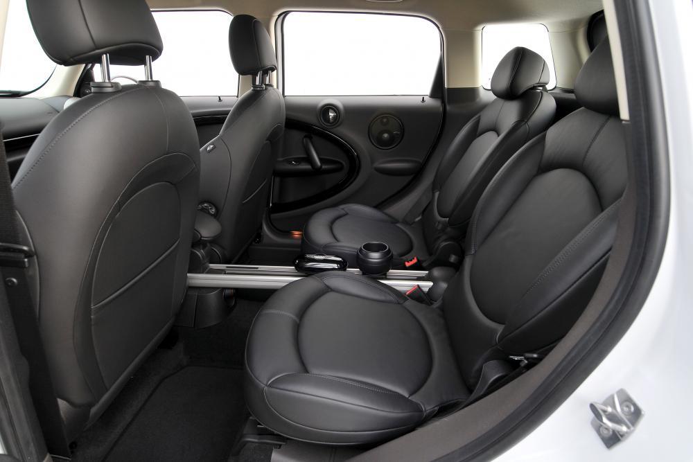 Mini Countryman 1 поколение R60 Cooper S интерьер
