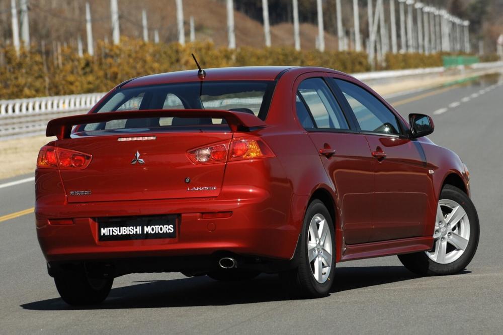 Mitsubishi Lancer X седан 4-дв.