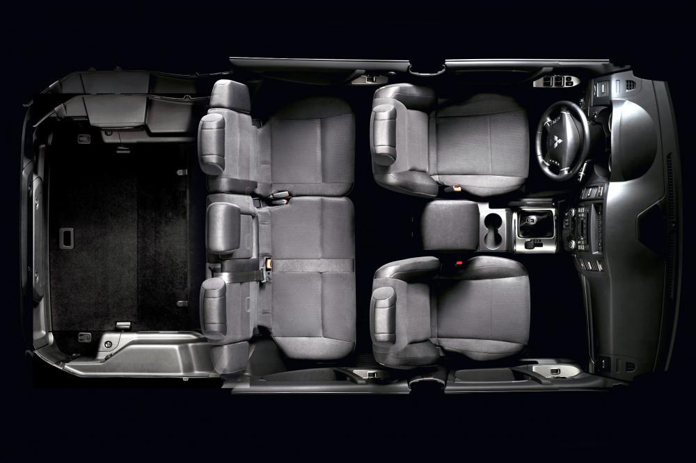 Mitsubishi Pajero 4 поколение рестайлинг Внедорожник 5-дв. интерьер