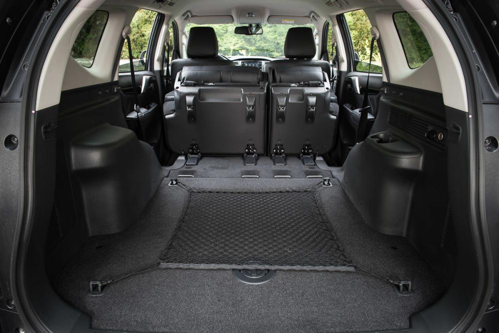 Mitsubishi Pajero Sport 3 поколение багажник