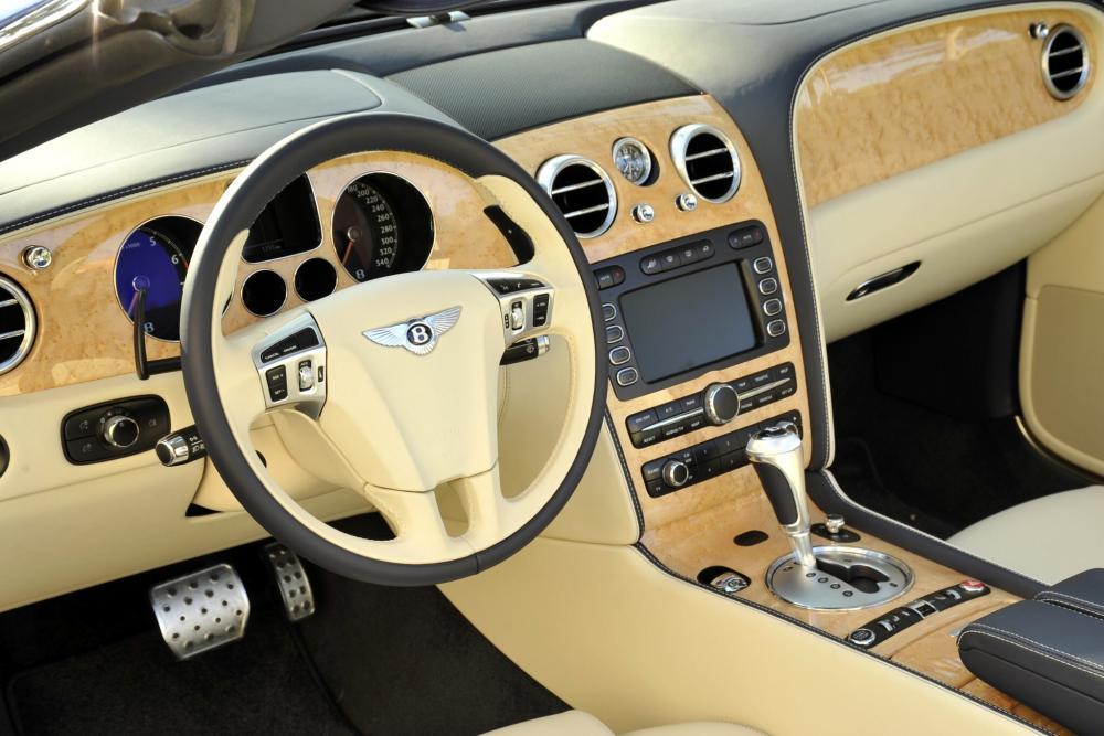 Bentley Continental GT 1 поколение Speed кабриолет 2-дв. интерьер