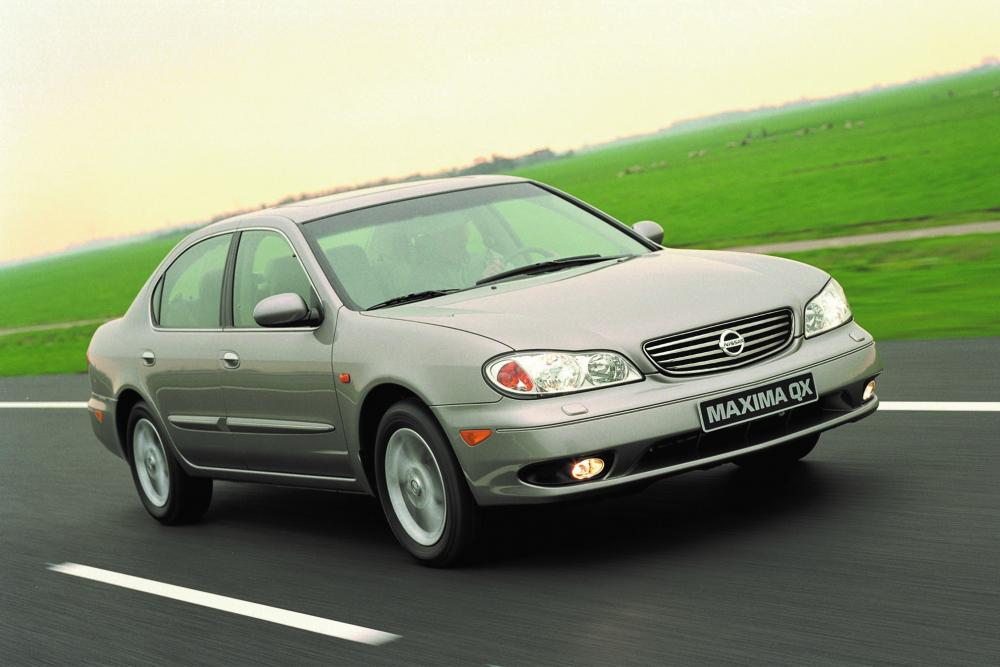 Nissan Maxima QX A33 [рестайлинг] (2004-2006) Седан