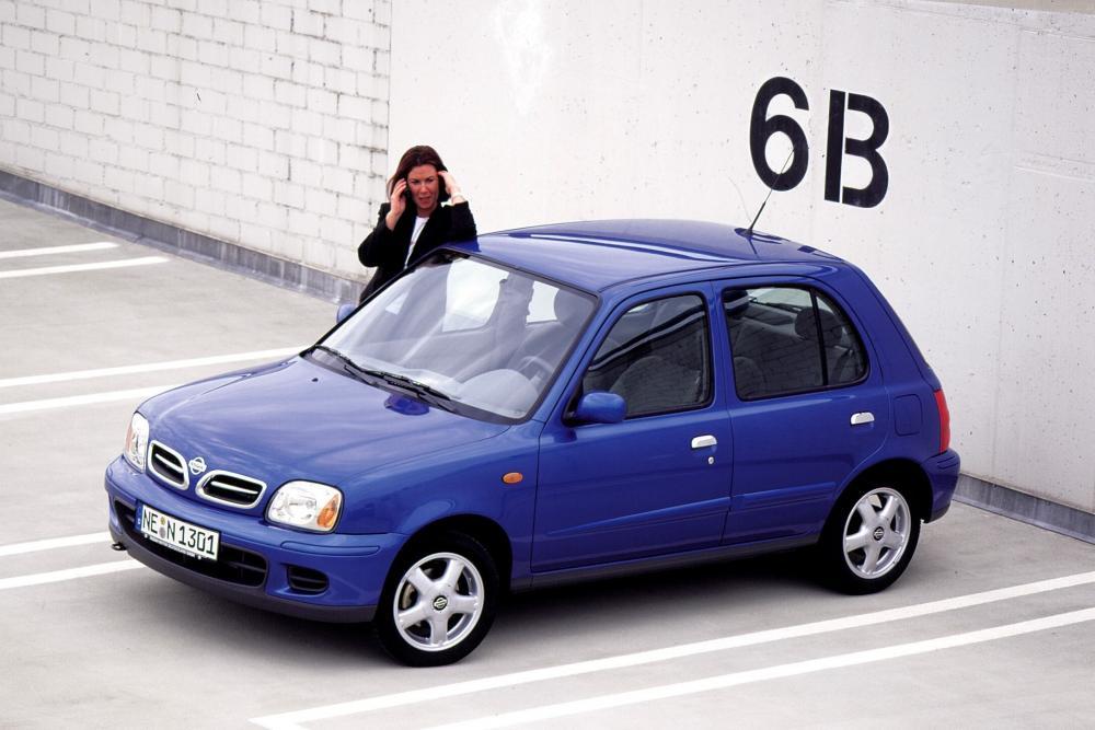 Nissan Micra 2 поколение K11C [2-й рестайлинг] Хетчбэк 5-дв.
