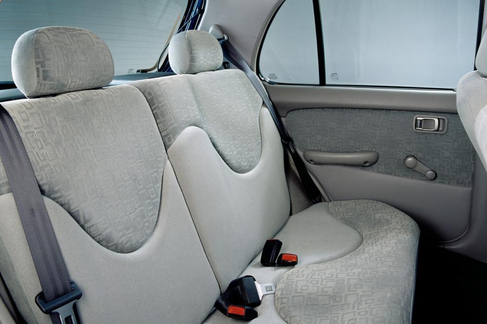 Nissan Micra 2 поколение K11C [2-й рестайлинг] Хетчбэк 5-дв. интерьер